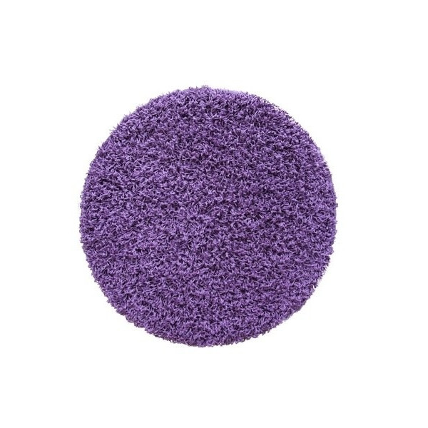 Lalee Kusový koberec Relax REL 150 violet kruh, 67x67 kruh% Fialová - Vrácení do 1 roku ZDARMA vč. dopravy