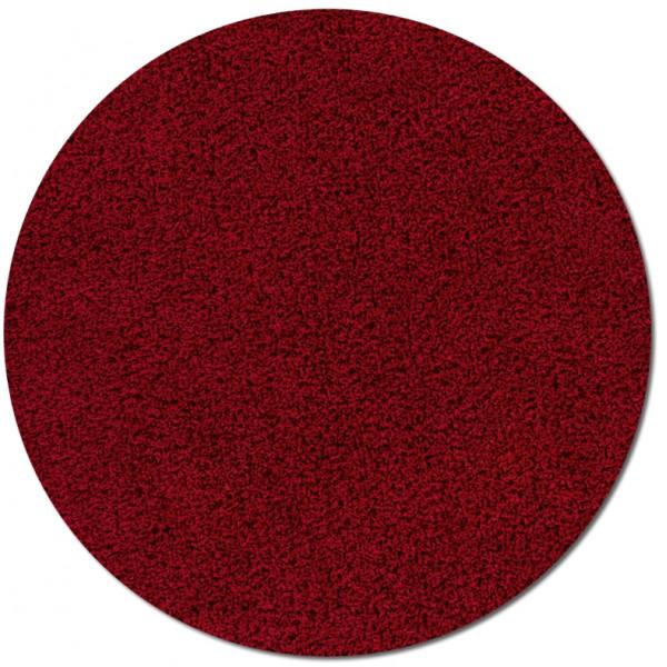 Lalee Kusový koberec Relax REL 150 red kruh, 67x67 kruh% Červená - Vrácení do 1 roku ZDARMA vč. dopravy