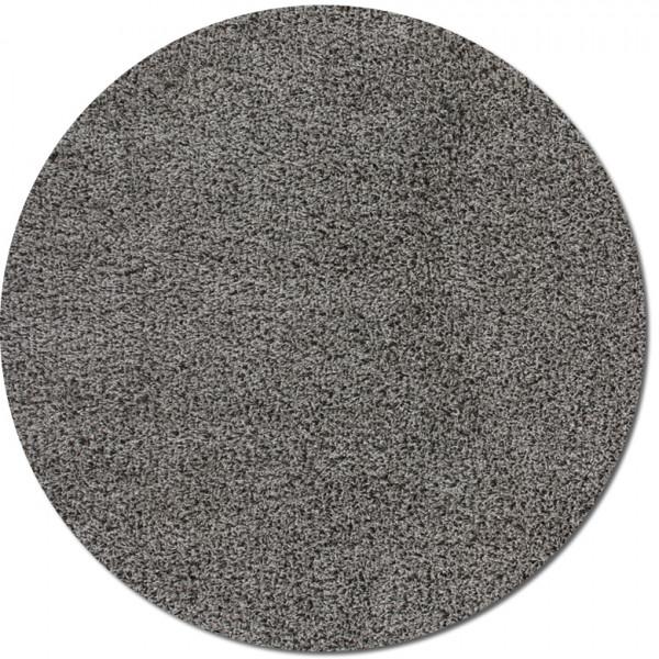 Lalee Kusový koberec Relax REL 150 silver kruh, 67x67 kruh% Šedá - Vrácení do 1 roku ZDARMA vč. dopravy