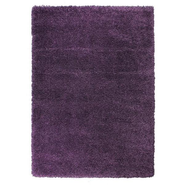 Devos koberce Kusový koberec FUSION 91311 Lila, 80x150 cm koberce% Fialová - Vrácení do 1 roku ZDARMA vč. dopravy + možnost zaslání vzorku zdarma