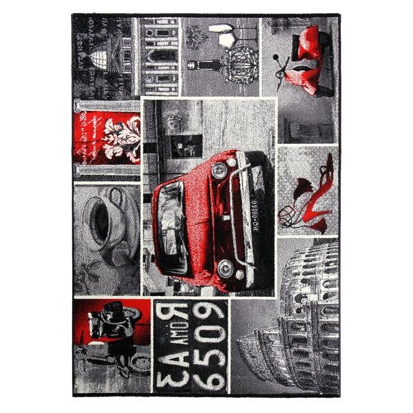 Sintelon koberce Kusový koberec Tattoo 49 WGM, 70x140 cm% Šedá - Vrácení do 1 roku ZDARMA vč. dopravy