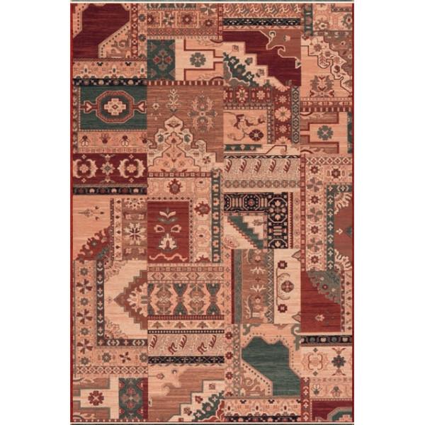 Osta Kusový koberec Kashqai 4323 100, 67x130 cm Osta% Červená, Béžová - Vrácení do 1 roku ZDARMA vč. dopravy