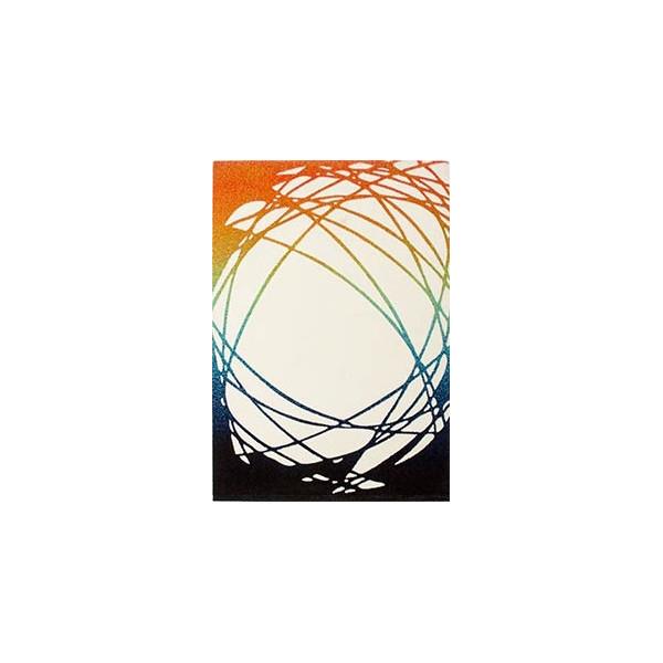 Obsession Kusový koberec CALIFORNIA 101 WHITE-ORANGE,   80x150 cm Obsession - 30 dní na vrácení - DOPRAVA ZDARMA k Vám i zpět%