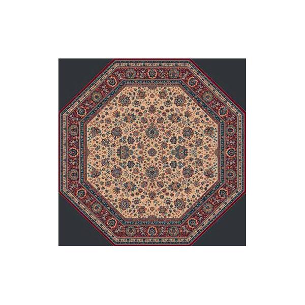 Lano luxusní orientální koberce Kusový koberec Royal 1516-505, Ø 170% Hnědá - Vrácení do 1 roku ZDARMA vč. dopravy