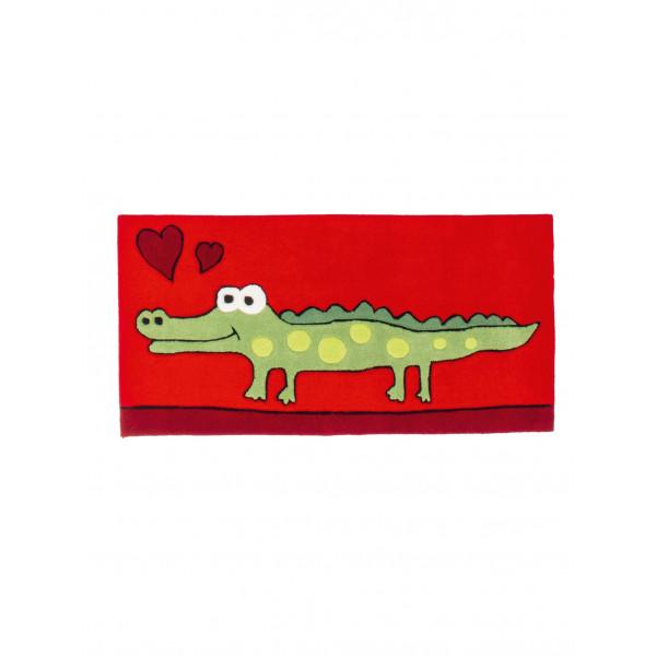 Obsession koberce Kusový koberec MAGIC KIDS 305 RED, 60x120 cm Obsession koberce% Červená - Vrácení do 1 roku ZDARMA vč. dopravy