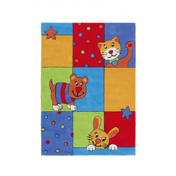 Obsession koberce Kusový koberec MAGIC KIDS 301 MULTI , 80x150 cm Obsession koberce% - Vrácení do 1 roku ZDARMA vč. dopravy