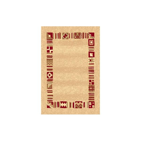 Sintelon Kusový koberec Practica 38 ECE, 200x300 cm% Béžová - Vrácení do 1 roku ZDARMA vč. dopravy
