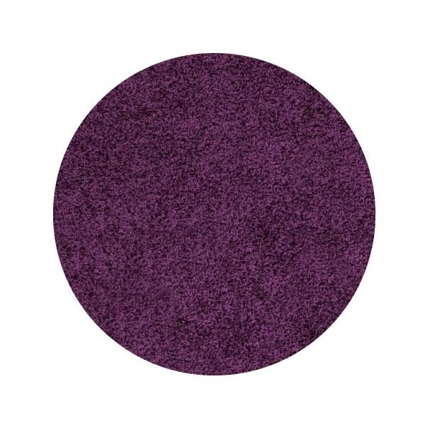 Ayyildiz koberce Kusový koberec Life Shaggy 1500 lila kruh, 200x200 cm kruh Ayyildiz koberce% Fialová - Vrácení do 1 roku ZDARMA vč. dopravy + možnost zaslání vzorku zdarma