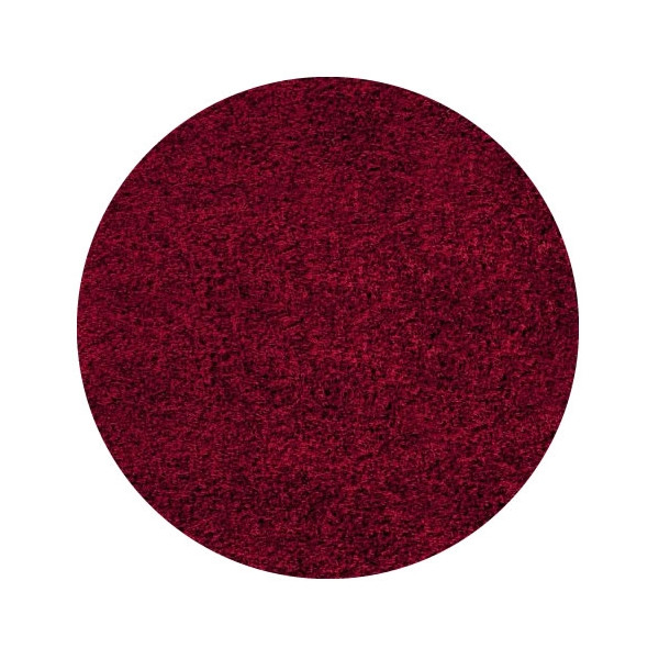 Ayyildiz koberce Kusový koberec Life Shaggy 1500 red kruh, 200x200 cm kruh Ayyildiz koberce% Červená - Vrácení do 1 roku ZDARMA vč. dopravy + možnost zaslání vzorku zdarma
