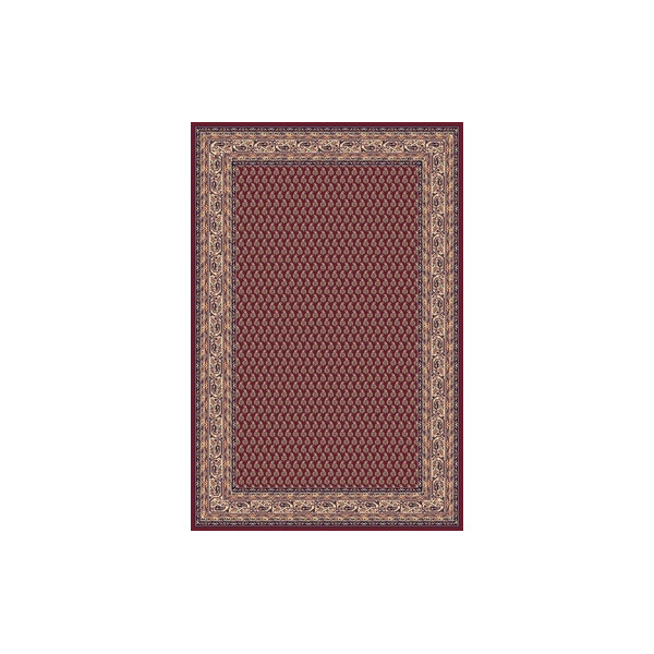 Sintelon Kusový koberec Solid 03 CPC, 200x300 cm% Červená - Vrácení do 1 roku ZDARMA vč. dopravy