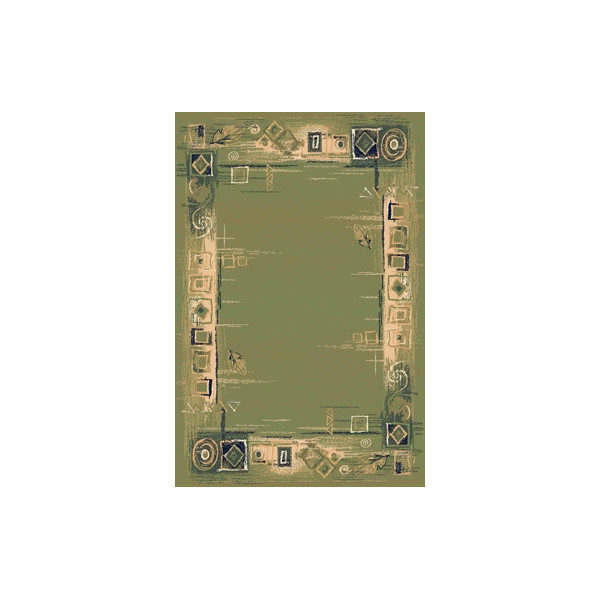 Sintelon koberce Kusový koberec Solid 07 AVA, 200x300 cm koberce% Zelená - Vrácení do 1 roku ZDARMA vč. dopravy