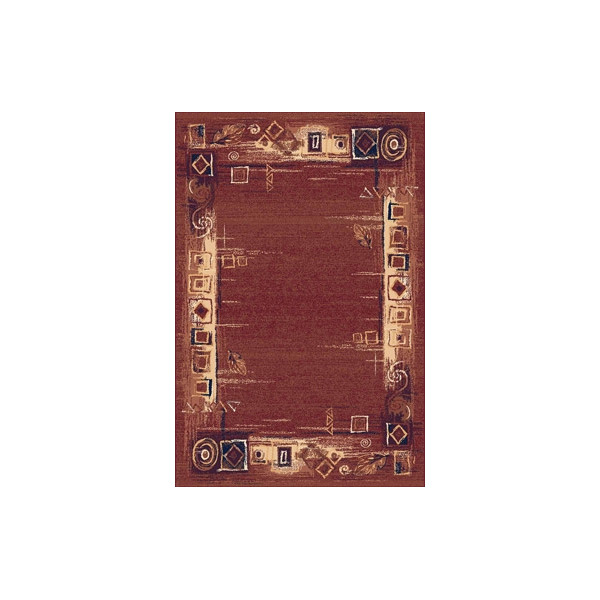 Sintelon Kusový koberec Solid 07 COC, 200x300 cm% Červená - Vrácení do 1 roku ZDARMA vč. dopravy
