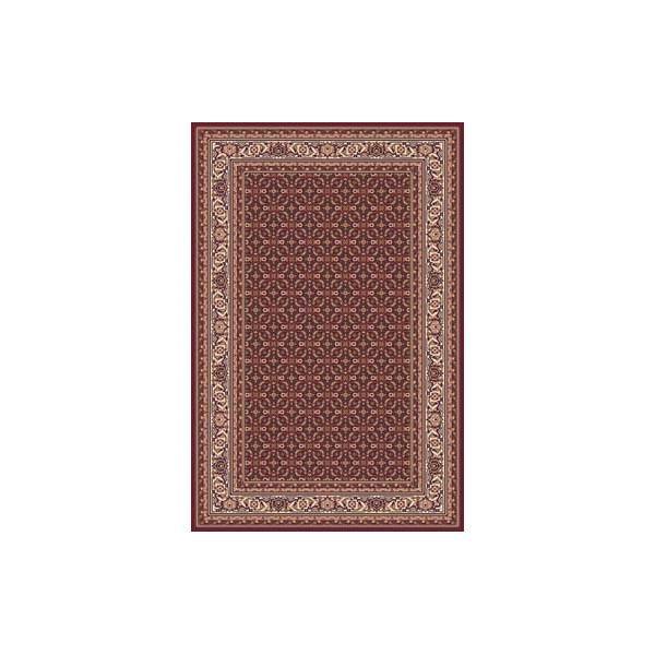 Sintelon Kusový koberec Solid 56 CVC, 200x300 cm% Červená - Vrácení do 1 roku ZDARMA vč. dopravy