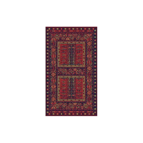 Sintelon Kusový koberec Solid 14 CPC, 200x300 cm% Červená - Vrácení do 1 roku ZDARMA vč. dopravy