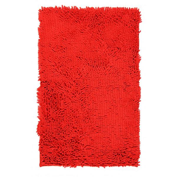 BO-MA Koupelnová předložka RASTA MICRO červená, 50x80 cm% Červená - Vrácení do 1 roku ZDARMA vč. dopravy
