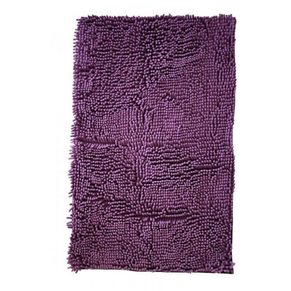 BO-MA Koupelnová předložka RASTA MICRO fialová, 50x80 cm% Fialová - Vrácení do 1 roku ZDARMA vč. dopravy
