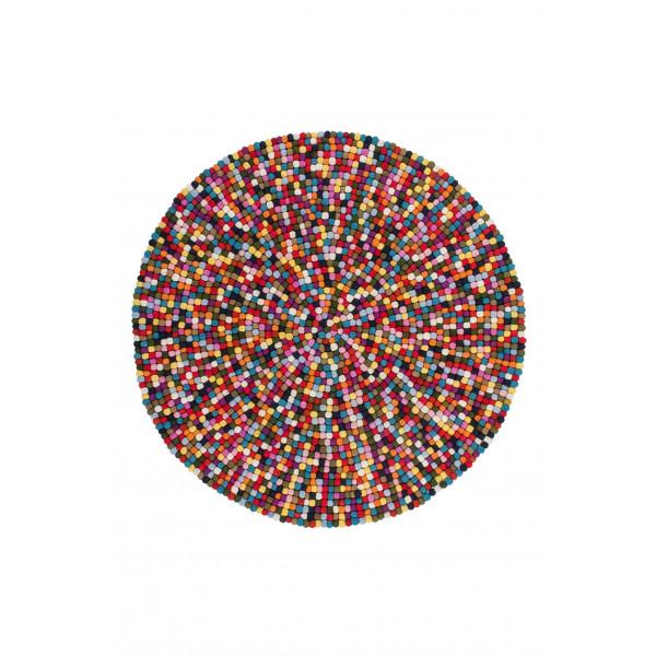 Obsession koberce Kusový koberec PASSION 730 MULTI, 120x120 cm kruh Obsession koberce% - Vrácení do 1 roku ZDARMA vč. dopravy
