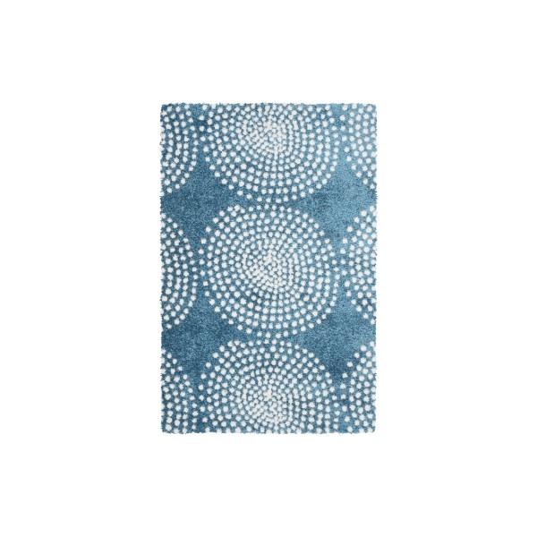 Sintelon Kusový koberec Tiffany 50 KWK, 80x150 cm% Modrá - Vrácení do 1 roku ZDARMA vč. dopravy