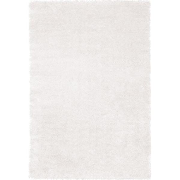 Tulipo Kusový koberec Crystal shaggy ivory, 160x230 cm Tulipo% Bílá - Vrácení do 1 roku ZDARMA vč. dopravy