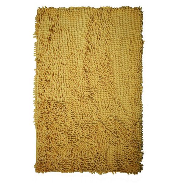 BO-MA Koupelnová předložka RASTA MICRO žlutá, 50x80 cm% Žlutá - Vrácení do 1 roku ZDARMA vč. dopravy