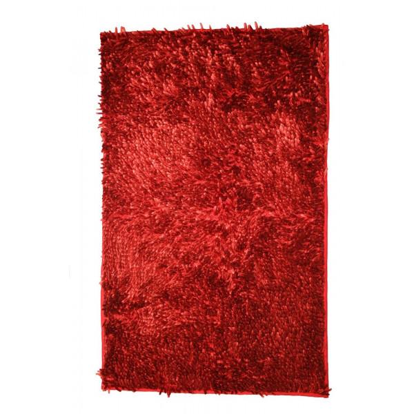 BO-MA Koupelnová předložka RASTA MICRO NEW bordo, 50x80 cm% Červená - Vrácení do 1 roku ZDARMA vč. dopravy