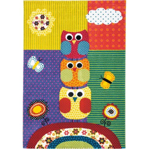 Tulipo koberce Kusový koberec Kiddy 633/110, 120x170 cm% Žlutá - Vrácení do 1 roku ZDARMA vč. dopravy