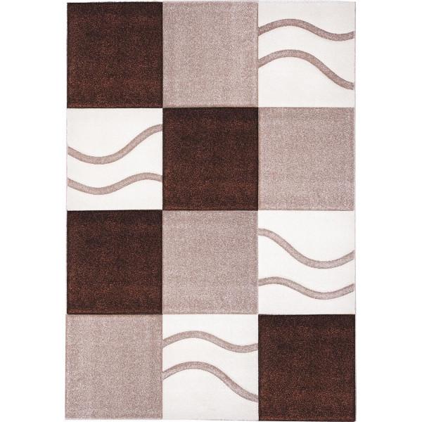 Tulipo koberce Kusový koberec Moderno 763/70, 120x170 cm Tulipo koberce% Hnědá - Vrácení do 1 roku ZDARMA vč. dopravy
