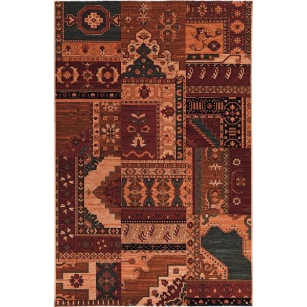 Tulipo koberce Kusový koberec Royal Keshan 4323/101, 200x300 cm Tulipo koberce% Červená - Vrácení do 1 roku ZDARMA vč. dopravy