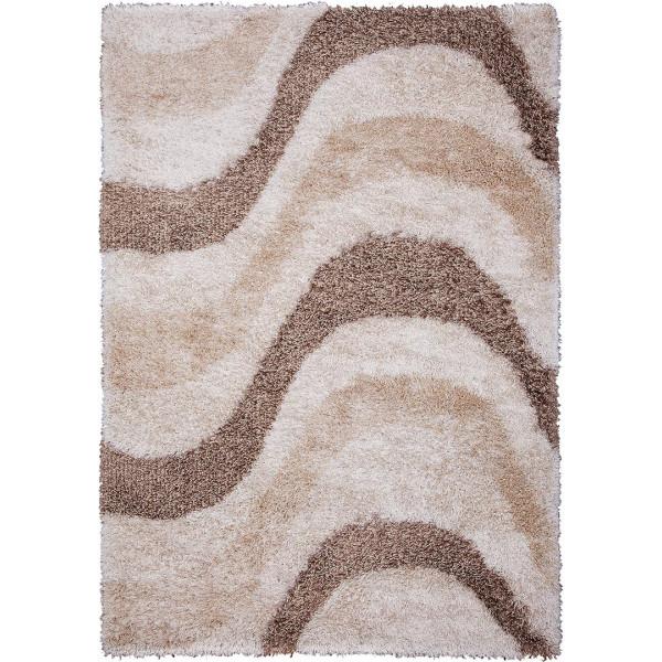 Tulipo koberce Kusový koberec Carat Shaggy 08WVW, 200x300 cm Tulipo koberce% Hnědá, Béžová - Vrácení do 1 roku ZDARMA vč. dopravy