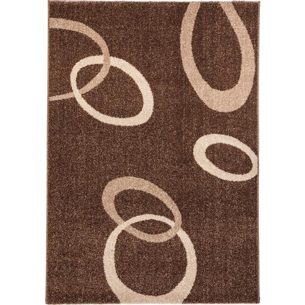 Tulipo Kusový koberec Mondial 060DOD, 120x170 cm Tulipo% Hnědá - Vrácení do 1 roku ZDARMA vč. dopravy