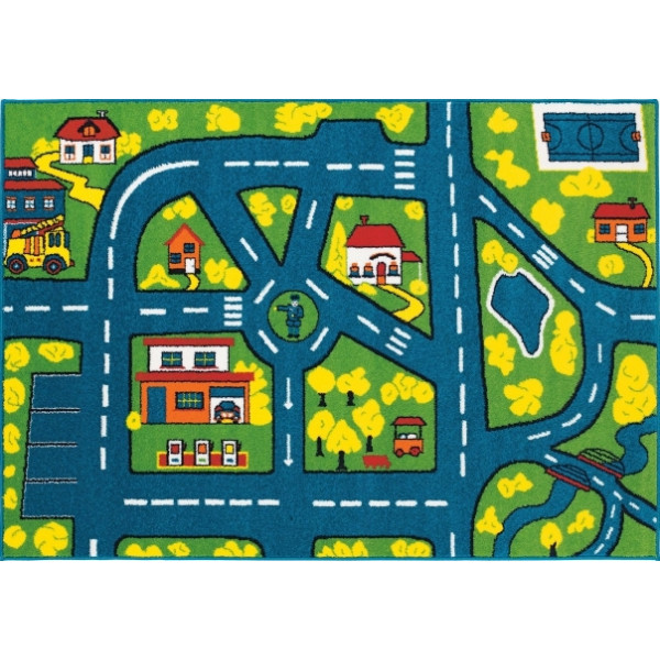 Tulipo Kusový koberec Joker 10, 120x170 cm Tulipo% Modrá - Vrácení do 1 roku ZDARMA vč. dopravy