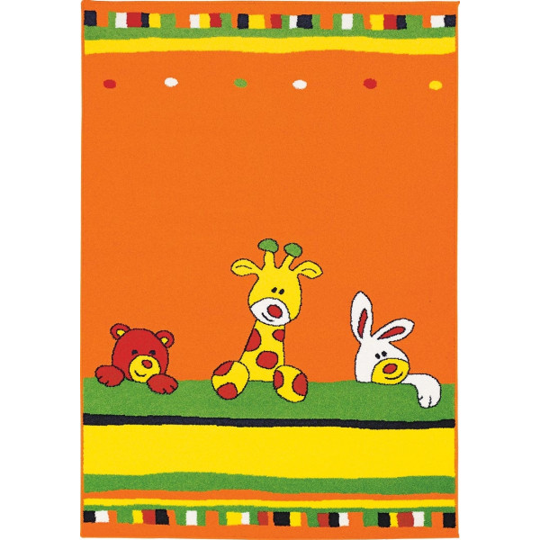 Tulipo Kusový koberec Joker 62, 120x170 cm Tulipo% Oranžová - Vrácení do 1 roku ZDARMA vč. dopravy