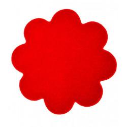 Květinový koberec Eton červený