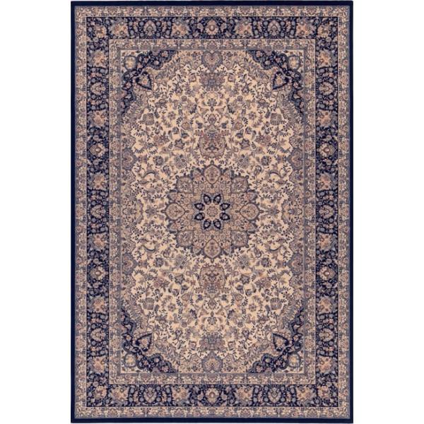 Osta luxusní koberce Kusový koberec Diamond 7252 120, 67x130 cm Osta luxusní koberce% Modrá, Béžová - Vrácení do 1 roku ZDARMA vč. dopravy
