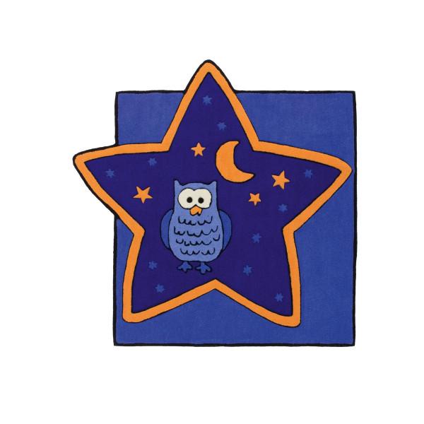 Obsession koberce Kusový koberec MAGIC KIDS 306 BLUE , 115x115 Obsession koberce% Modrá - Vrácení do 1 roku ZDARMA vč. dopravy