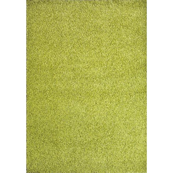 Spoltex Kusový koberec Expo Shaggy 5699-344, 60x115 Spoltex% Zelená - Vrácení do 1 roku ZDARMA vč. dopravy