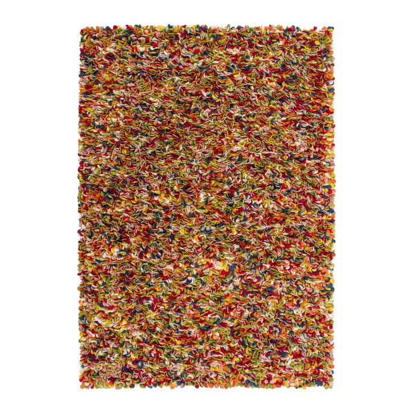 Obsession koberce Kusový koberec COSMIC 20710 MULTI, 80x150 cm Obsession koberce% Červená - Vrácení do 1 roku ZDARMA vč. dopravy