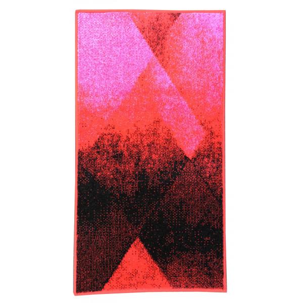 Devos koberce Kusový koberec Stella 78708 Red, 60x110 cm koberce% Červená - Vrácení do 1 roku ZDARMA vč. dopravy