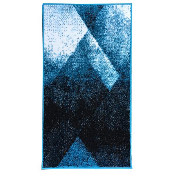 Devos-Caby Kusový koberec Stella 78708 Blue, 60x110 cm -Caby% Modrá - Vrácení do 1 roku ZDARMA vč. dopravy