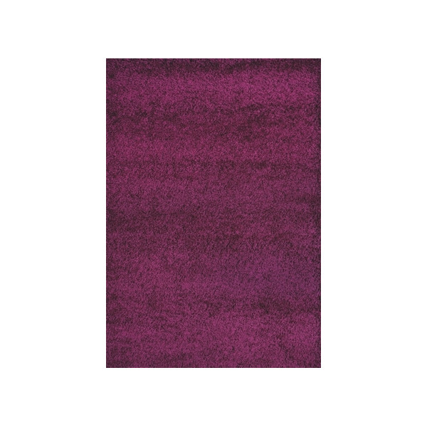 Spoltex Kusový Koberec Shaggy Plus Purple 957, 200x290 cm Spoltex% Fialová - Vrácení do 1 roku ZDARMA vč. dopravy