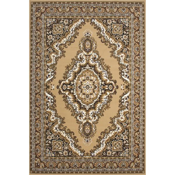 Lalee koberce Kusový koberec Sahara SAH 102 beige, 120x170 cm koberce% Béžová - Vrácení do 1 roku ZDARMA vč. dopravy