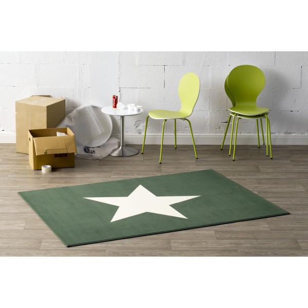 Hanse Home Collection koberce Kusový koberec CITY MIX 102038 140x200 cmcm, 140x200 cm% Bílá, Zelená - Vrácení do 1 roku ZDARMA vč. dopravy