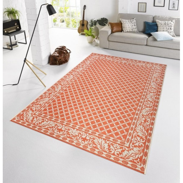 Bougari - Hanse Home koberce Kusový koberec BOTANY Royal Terra - venkovní (outdoor), 115x165% Oranžová - Vrácení do 1 roku ZDARMA vč. dopravy