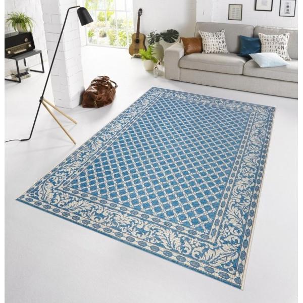 Bougari - Hanse Home koberce Kusový koberec BOTANY Royal Blau - venkovní (outdoor), 115x165% Modrá - Vrácení do 1 roku ZDARMA vč. dopravy