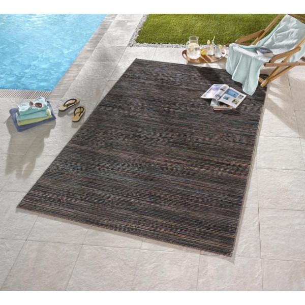 Bougari - Hanse Home koberce Venkovní kusový koberec Lotus Braun Orange Blau Meliert, 80x240 cm% Hnědá - Vrácení do 1 roku ZDARMA vč. dopravy