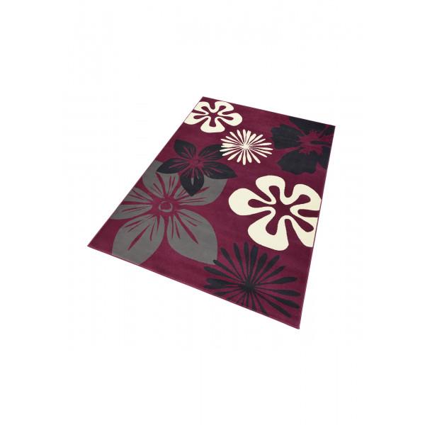 Hanse Home Collection koberce Kusový koberec GLORIA Flora Violett, 80x150 cm Hanse Home Collection koberce% Červená - Vrácení do 1 roku ZDARMA vč. dopravy