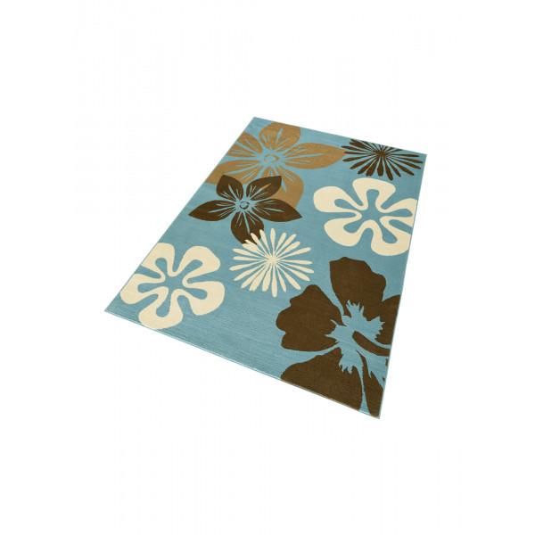 Hanse Home Collection koberce Kusový koberec GLORIA Flora Blau, 120x170 cm Hanse Home Collection koberce% Modrá - Vrácení do 1 roku ZDARMA vč. dopravy