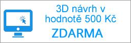 3D návrh koberce zdarma