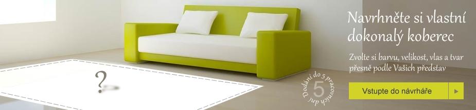 Konfigurátor koberců - koberec na míru