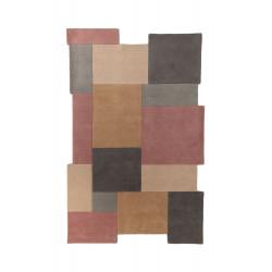 Ručně všívaný kusový koberec Abstract Collage Pastel